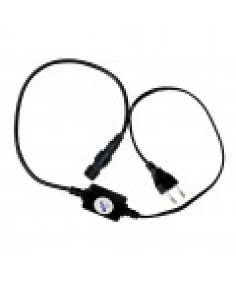 Силовой кабель 2-полюсный с вилкой для светодиодного провода LED LRLx2