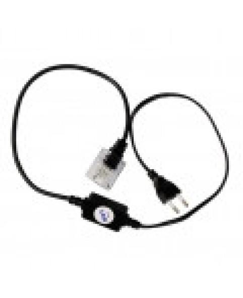Силовой кабель 3-полюсный с вилкой для светодиодного провода LED LRLx3