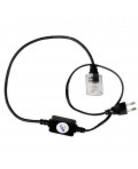 Силовой кабель 4-полюсный с вилкой для светодиодного провода LED LRLx4