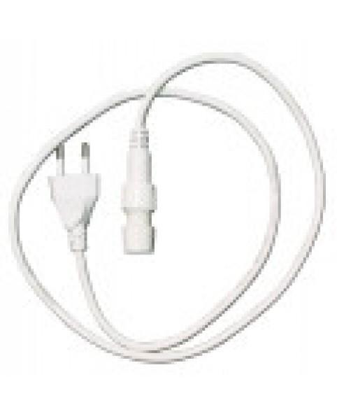 Силовой кабель 2-полюсный с вилкой для светового провода RBRLx2