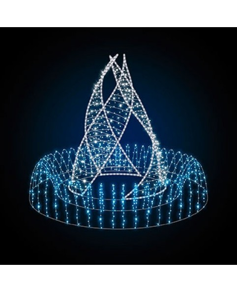 """3D светодиодный фонтан """"Гармония"""""""