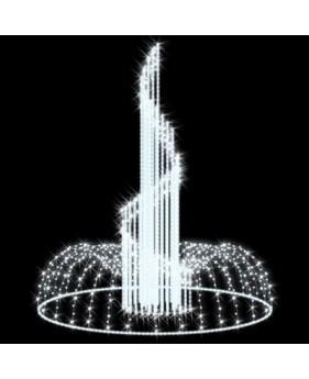 """3D светодиодный фонтан """"Волна"""""""