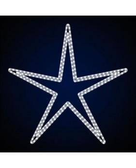 """Светодиодная звезда """"Узкоугольная двойная"""""""