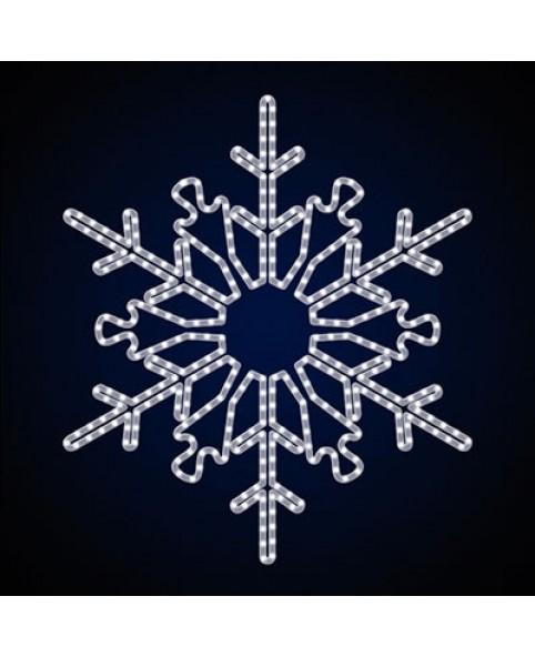 """Светодиодная снежинка """"Лабиринт"""""""