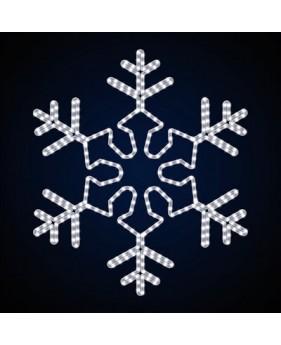 """Светодиодная снежинка """"Махагон"""""""