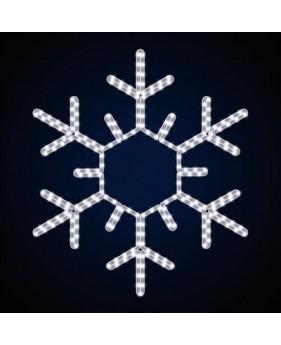 """Светодиодная снежинка """"Стандарт острая"""""""