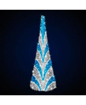 """Ёлка конусная светодиодная  """"Новогодняя"""", 3.0х1.0м"""