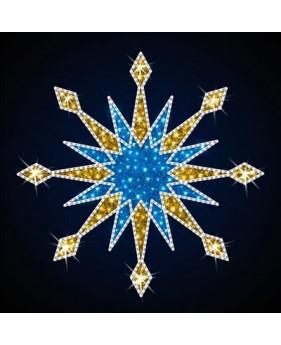 """Верхушка для ёлок светодиодная """"Рождественская"""", 2х2 м"""