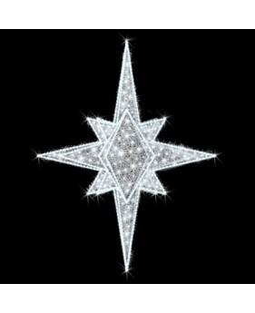 """Верхушка для ёлок светодиодная """"Королевская"""", 0.7х0.9м, 33 Вт"""