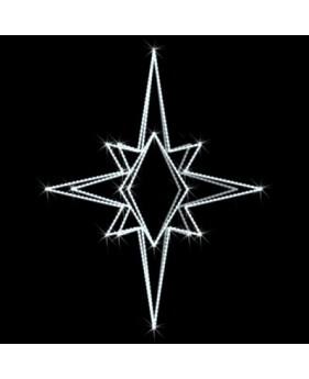"""Верхушка для ёлок светодиодная """"Ливадия"""", 0.9х0.7м, 28 Вт"""
