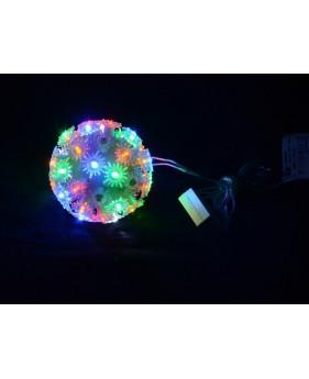 Гирлянда внутренняя DELUX BALL LIGHT 50LED мульти, внутренняя