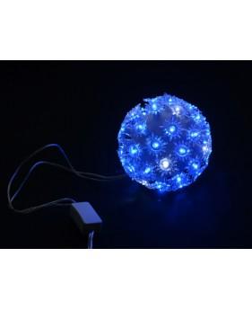 Гирлянда внутренняя DELUX BALL LIGHT 50LED D-10см синий, внутренняя